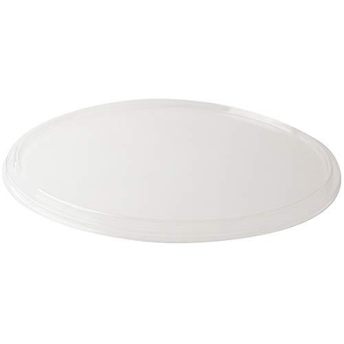 SOLUT! 00074 15 Flat PET Lid for 15 Take and Bake Pizza Tray, Plastic, Clear (Pack of 75)