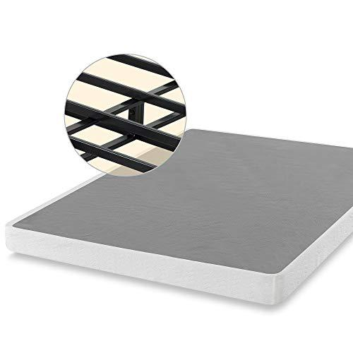 ZINUS 5 Inch Smart Metal Box Spring / Mattress Foundation / Strong Metal Frame / Easy Assembly, Full