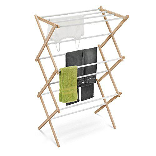 Honey-Can-Do Wooden Laundry Drying Rack
