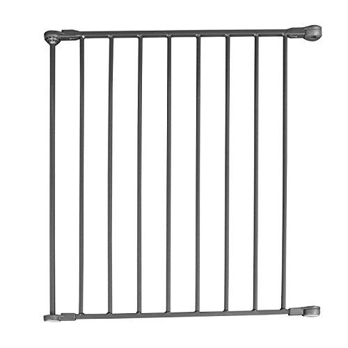 Qdos Construct-A-SafeGate Long Extension - Extra 23.5 Section for Qdos Construct-A-SafeGate - Use to create extra-large or freestanding baby gates - Meets Toughest European Safety Standards | Slate