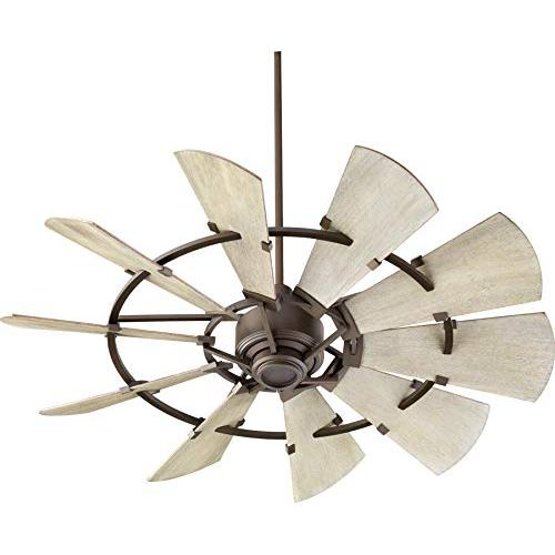 Quorum International Windmill 52 Ceiling Fan - Oiled Bronze - 95210-86