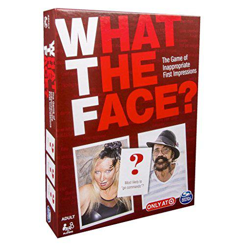 Spin Master Board Game, What The Face