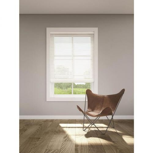 Levolor Trim+go 2-in Cordless White Faux Wood Room Blind Trimmed To 31.5 X 72