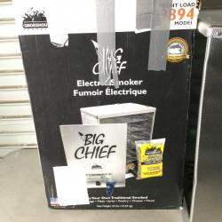 Smokehouse Products Big Chief Front Load Smoker , Silver , Large