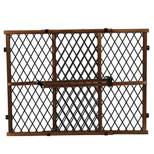 Evenflo Position & Lock Baby Gate, Pressure-Mounted, Farmhouse Collection
